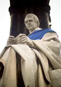 Sir Walter Scott Close Up