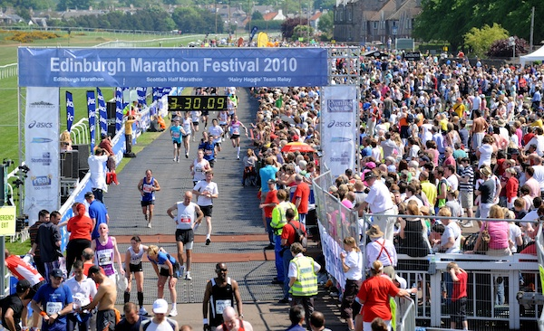Spring Into The Edinburgh Marathon Festival The