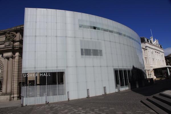 Usher Hall Blue Sky Glass