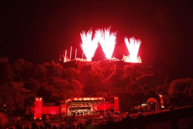 Edinburgh End of Festival Edinburgh Festival Fireworks