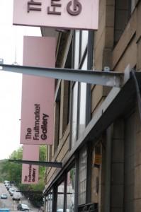 Fruitmarket Gallery sign