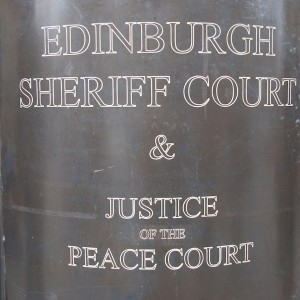 TER Edinburgh Sheriff Court