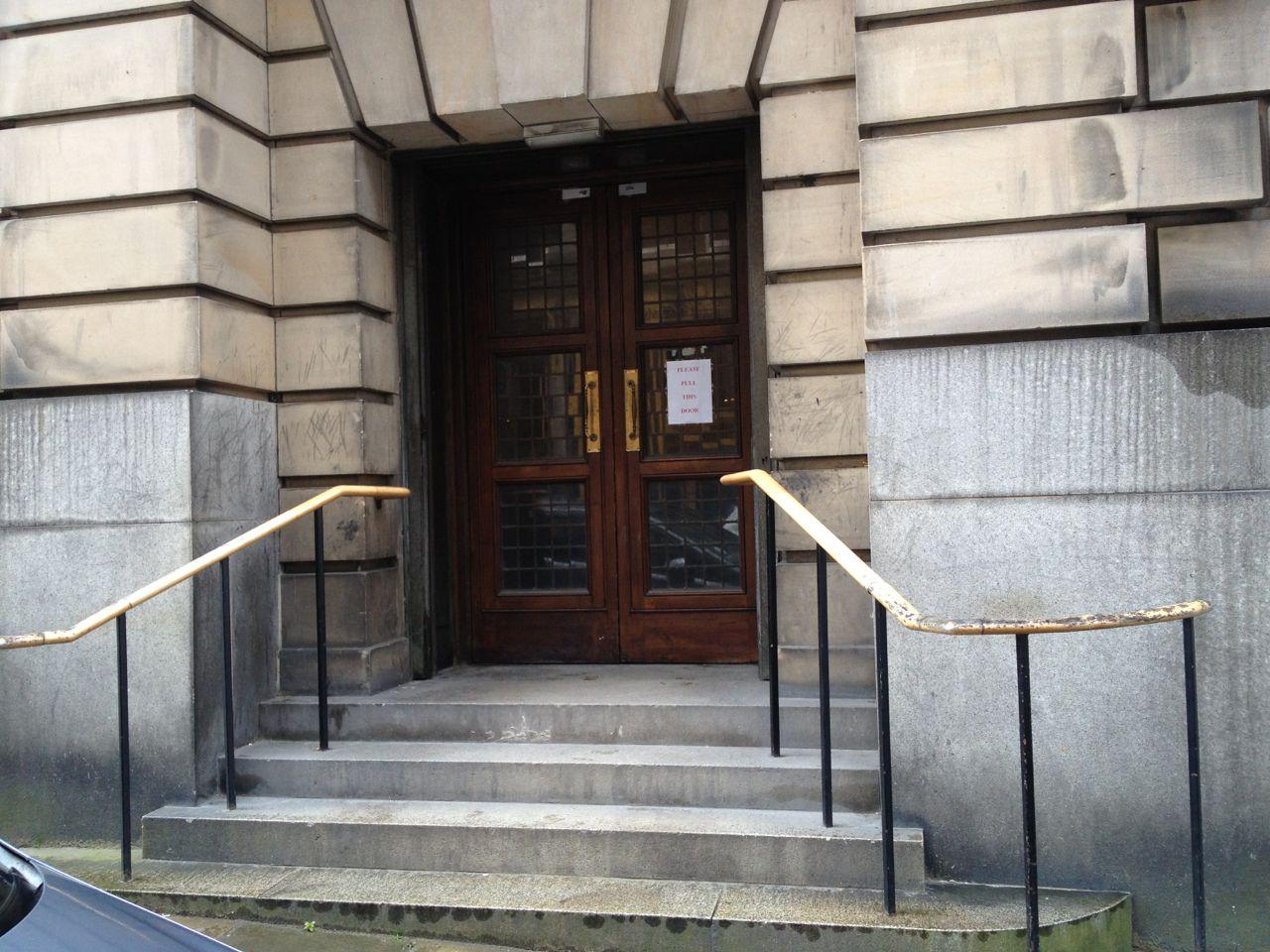 High Court side door