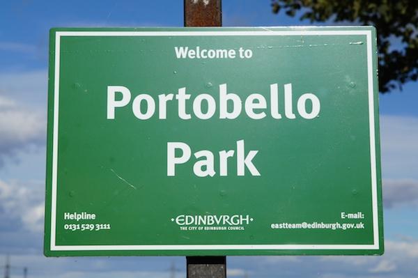 TER Portobello Park sign