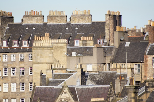 TER chimney pots and roof detail