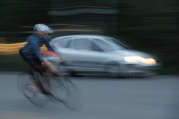 TER bike and car