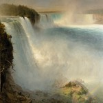 Frederic Edwin Church, Niagara Falls, from the American Side