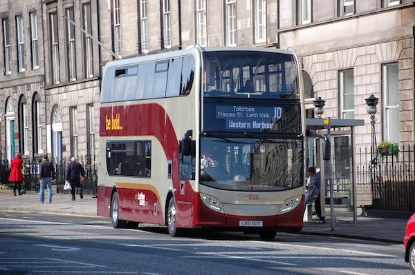No 10 Lothian Bus