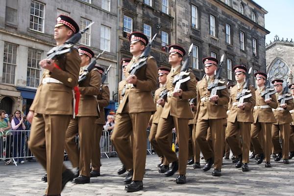 Scots Guards get Freedom of Edinburgh 20