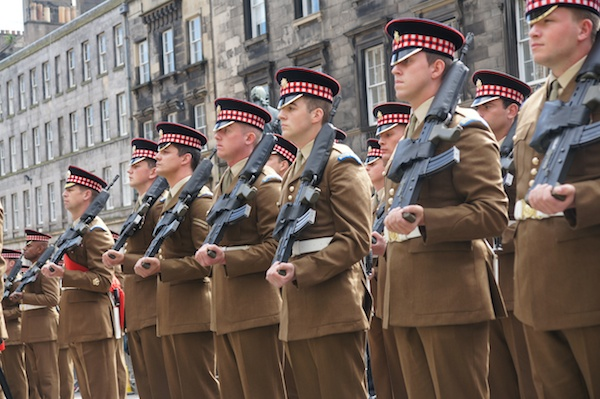 Scots Guards get Freedom of Edinburgh 25
