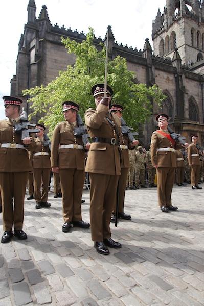Scots Guards get Freedom of Edinburgh 36