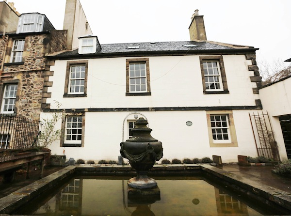 Edinburgh S Rock House Used In Tv Programme The