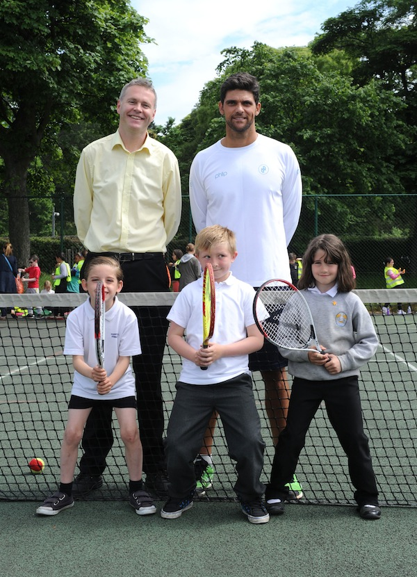 Brodies Champions of Tennis.Launch