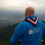 Volunteer leader Neil Mackenzie on recce visit for Nepal Expedition