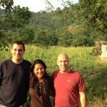volunteer leaders on recce visit to Nepal