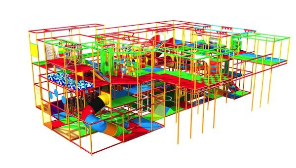 Tumbles at Portobello soft play (House of Play)