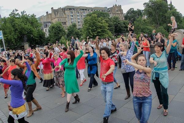 just festival flamenco flashmob