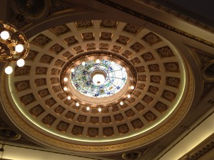 City chambers ceiling