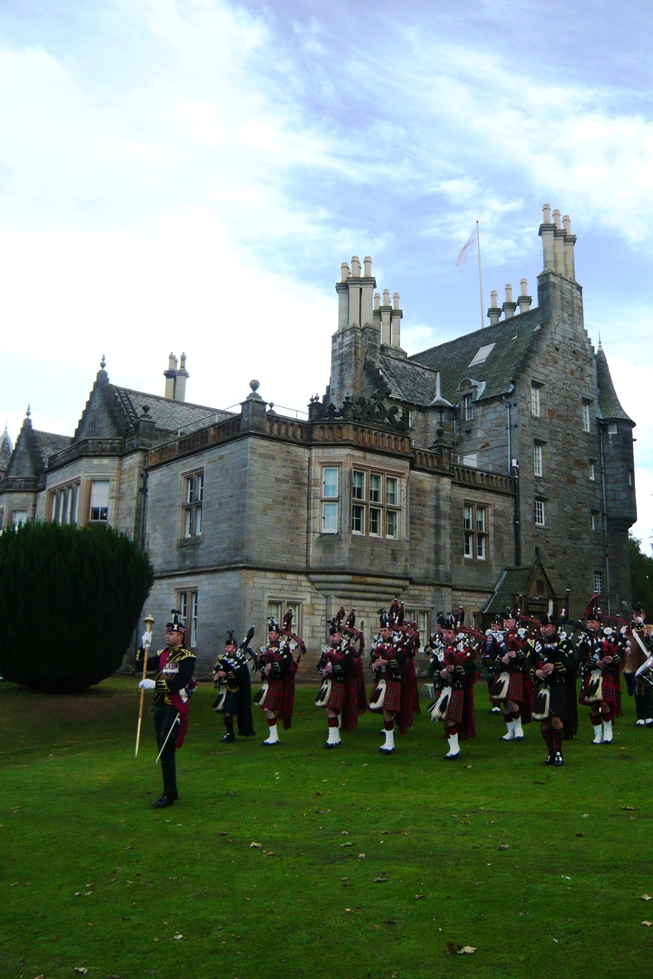 1st Scots Pipe Band at Lauriston Castle