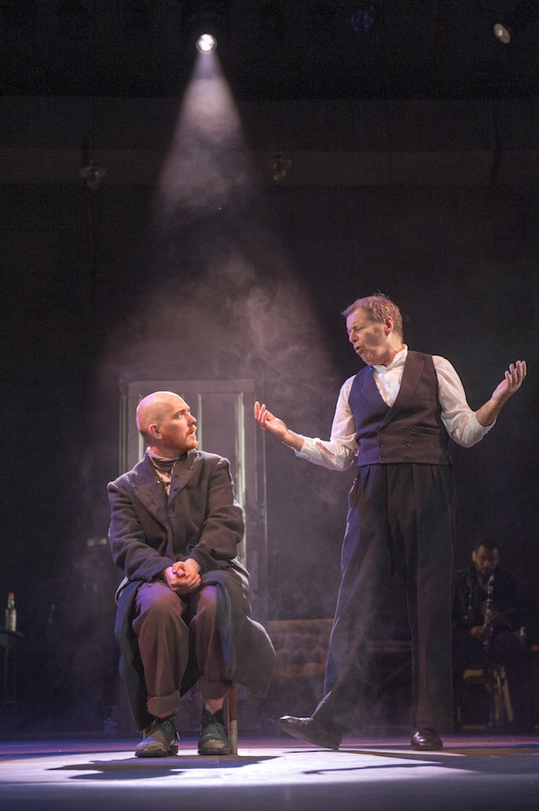 Adam Best and George Costigan in Crime and Punishment Photo by Tim Morozzo