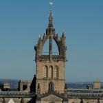 Edinburgh St Giles blue sky