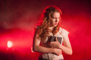 Jessica Hardwick in Crime and Punishment Photo by Tim Morozzo