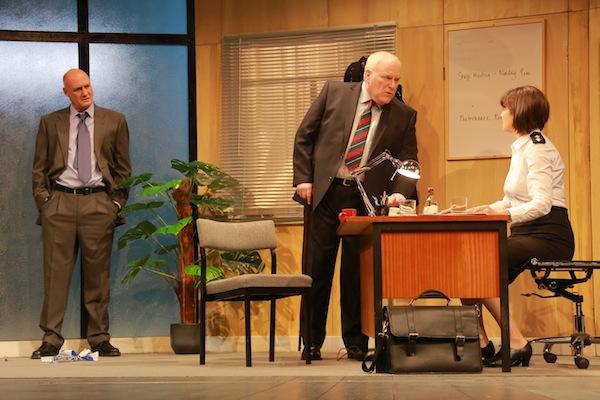 Robert Gwilym as Frank Bowman , Ron Donachie as Fergus McLintock and Maureen Beattie as Isobel McArthur