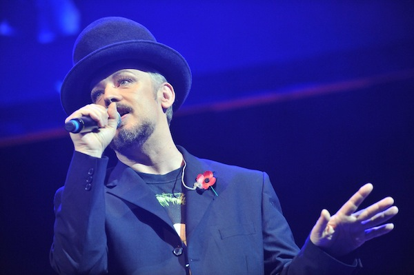 Mandatory Credit: Pic by Rob McDougall Radio Forth Awards 2013 at the Usher Hall, Edinburgh Boy George www.RobMcDougall.com 07856 222 103 info@robmcdougall.com Copyright Rob McDougall 2013 No sales or syndication