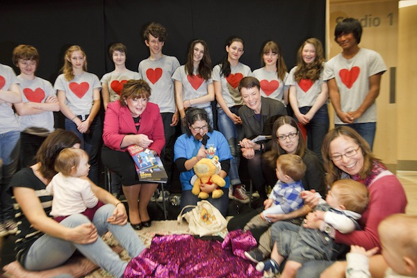 Launch of Scotland's Youth Art's Strategy Time To Shine