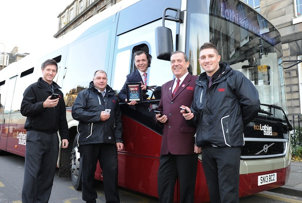 NEW LOTHIAN BUSES MOBILE TICKETING APP FIRST IN SCOTLAND