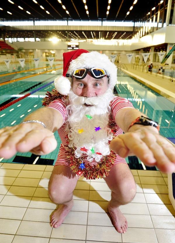 FREE PIC- Santa at Commonwealth Pool, Edinburgh 02