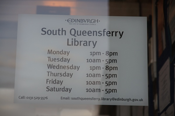 2013_02_11 TER South Queensferry Library 5
