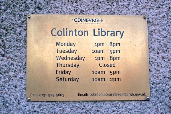 Colinton Library 10