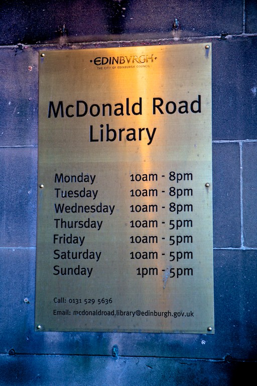 McDonald Road Library 9