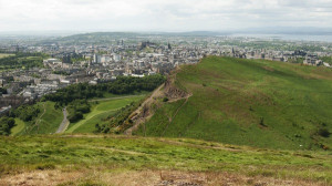 View from Arthur's Seat, Edimburgh