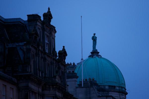Edinburgh in the February Evening 6