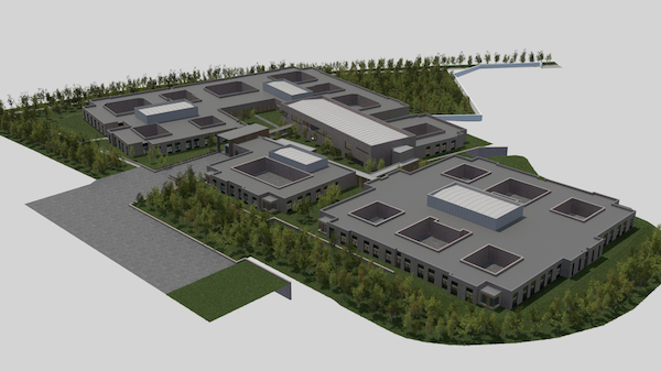 An artists impression of phase one of the REH campus development with work set to start later this year.