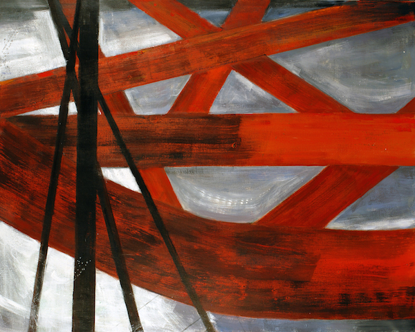 Image of new painting - Untitled Firth of Forth