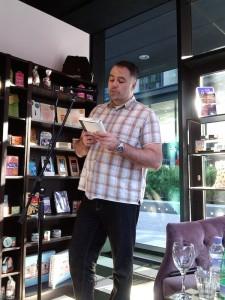 Bob McDevitt reads Falling Fast