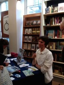 Leo Du Feu signing books-1