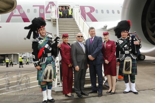Welcome to Scotland, Qatar Airways