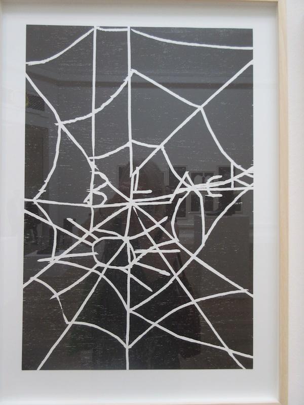 David Shrigley woodcut