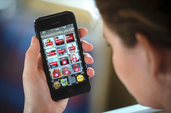 Virtual treasure hunt app aims to capture children's imagination.