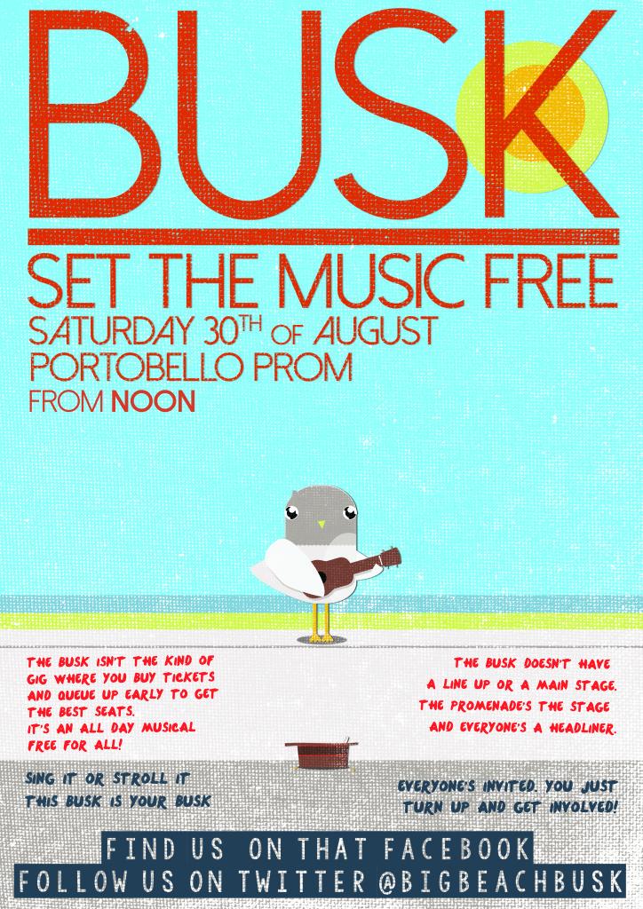Busk poster 2014_Seagul