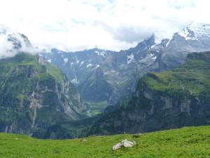 Swiss Alps above Kandersteg