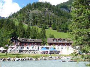 Main chalets at Kandersteg