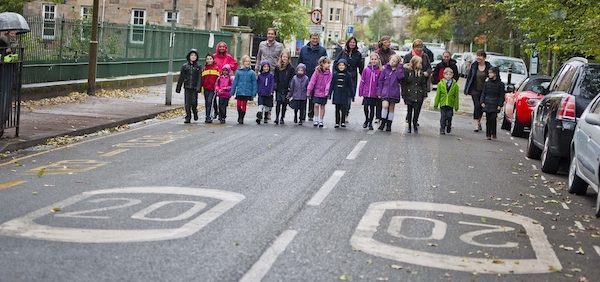 Living Streets Sciennes PS photocall 061014