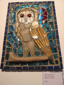 Moonlit Owl by Freya Levy