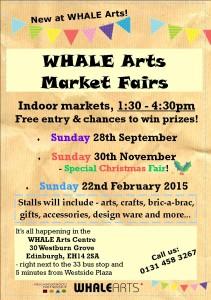 WHALE Market Fairs Sept 2014-Feb 2015