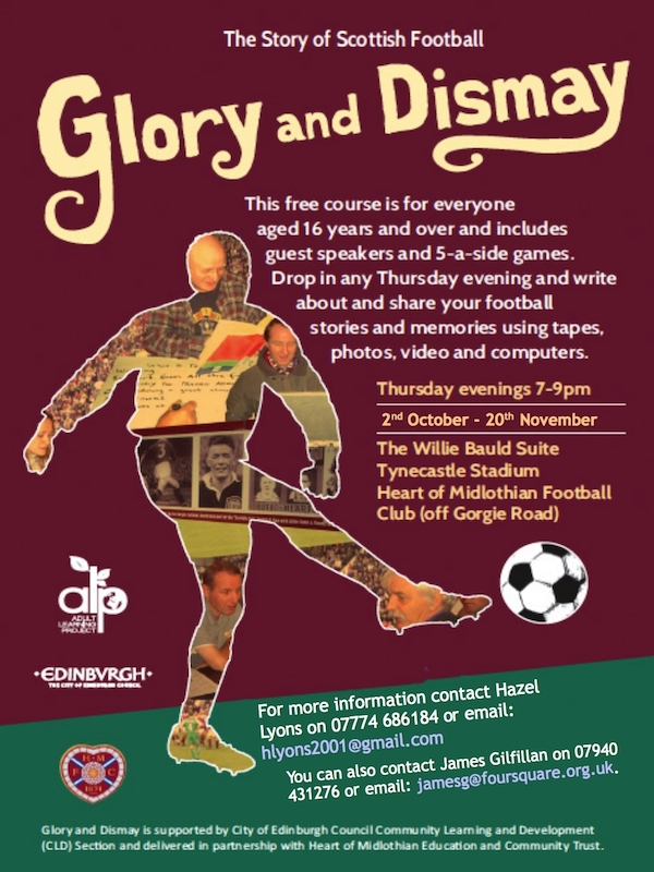 Glory&Dismay poster